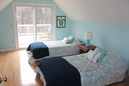 Eastham Cape Cod vacation rental - Second floor bedroom with twin beds