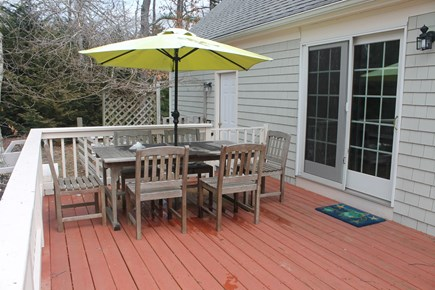 Eastham Cape Cod vacation rental - First floor deck