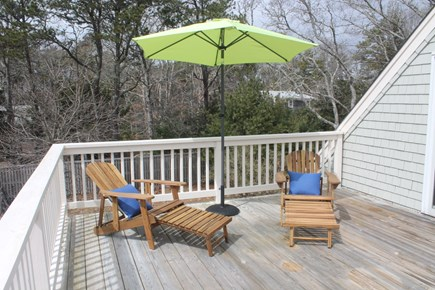 Eastham Cape Cod vacation rental - Second floor deck