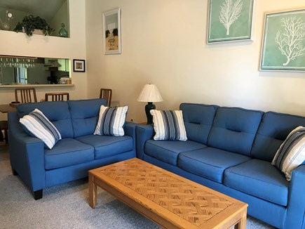 Brewster Cape Cod vacation rental - The comfortable living room provides plenty of room for you and.