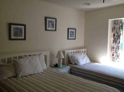 Brewster Cape Cod vacation rental - The second bedroom adds a full size and a twin bed