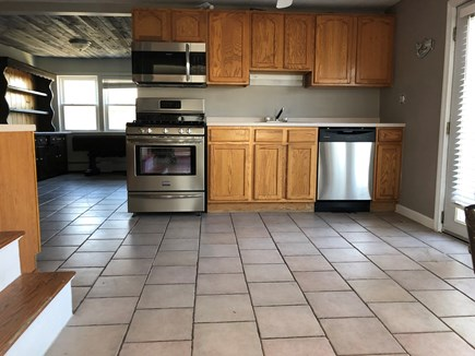 Wareham MA vacation rental - Brand new appliances kitchen flooring stainless stainless wood