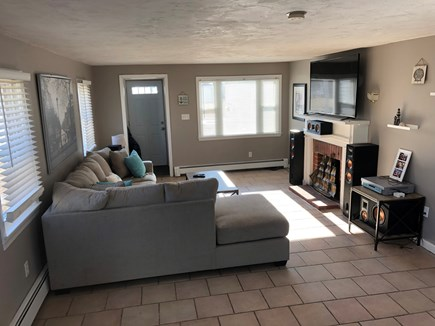 Wareham MA vacation rental - Living room sectional room for everyone