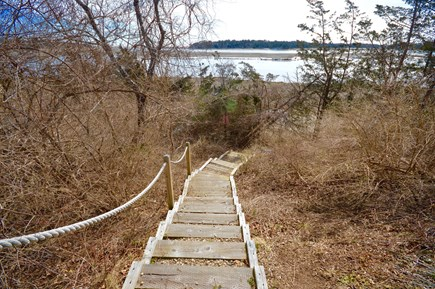 Orleans Cape Cod vacation rental - Private stairs to Pochet Inlet in your backyard!