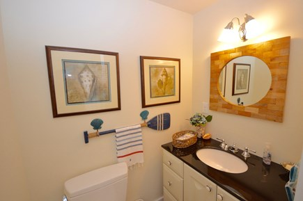Orleans Cape Cod vacation rental - Upper level 1/2 bath