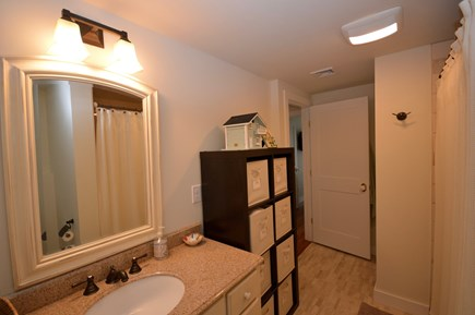 Orleans Cape Cod vacation rental - Lower level full bath with tub/shower combo