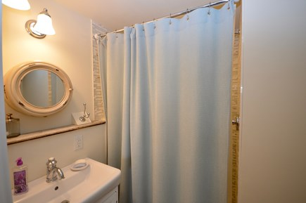 Orleans Cape Cod vacation rental - Queen master en suite with stand up shower