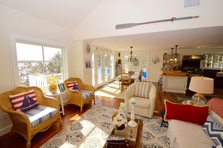 Orleans Cape Cod vacation rental - Gorgeous well appointed open kitchen and dining/living area