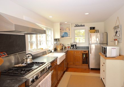 Orleans Cape Cod vacation rental - Fully equipped kitchen with gas range