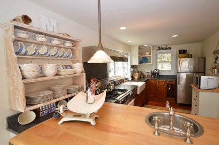 Orleans Cape Cod vacation rental - Large kitchen island with bar sink