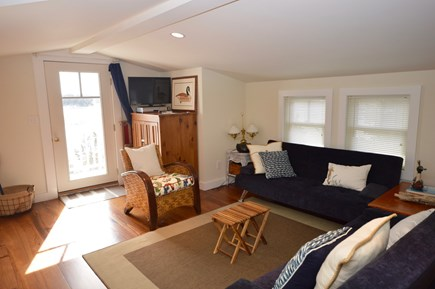 Orleans Cape Cod vacation rental - Game loft with 2 queen futons, flat screen TV and deck access