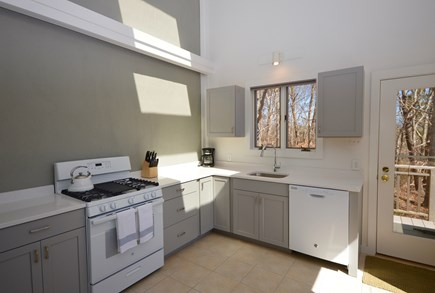 Wellfleet Cape Cod vacation rental - Gorgeous newly remodeled kitchen with quartz counters
