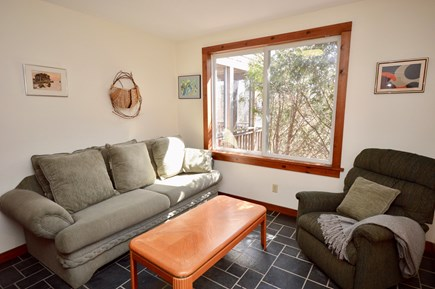 Wellfleet Cape Cod vacation rental - Living room with lots of light