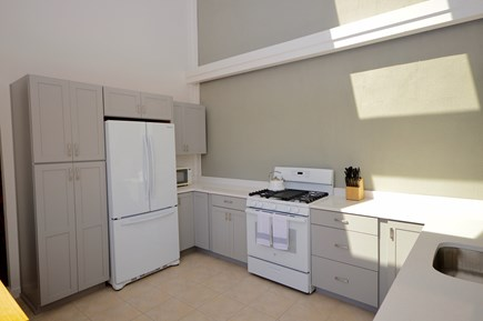 Wellfleet Cape Cod vacation rental - Kitchen with vaulted ceilings and lots of light