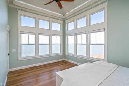 Eastham Cape Cod vacation rental - Views in the Master bedroom.