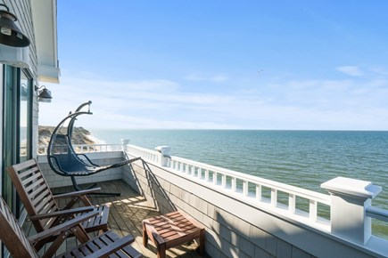 Eastham Cape Cod vacation rental - Balcony on the second floor overlooking the Bay