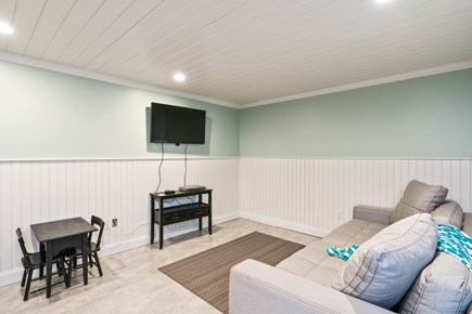 Eastham Cape Cod vacation rental - Finished lower level with living room