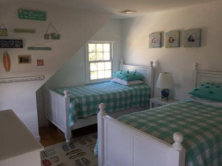 Chatham Cape Cod vacation rental - Upstairs green twin room