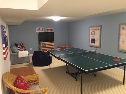 Chatham Cape Cod vacation rental - Lower level rec room