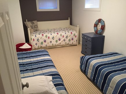 Chatham Cape Cod vacation rental - Lower level kids room