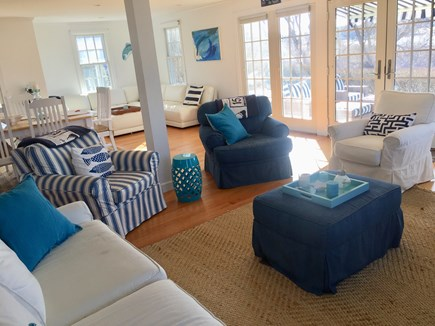 Chatham Cape Cod vacation rental - View from living area to patio