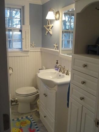 Yarmouth Port Cape Cod vacation rental - Downstairs Bathroom