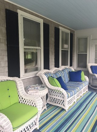 Harwichport Cape Cod vacation rental - Relaxing front porch