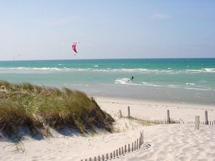South Dennis Cape Cod vacation rental - Mayflower Beach is 4 miles