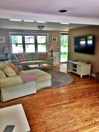 South Dennis Cape Cod vacation rental - Comfortable Living room with Flat screen