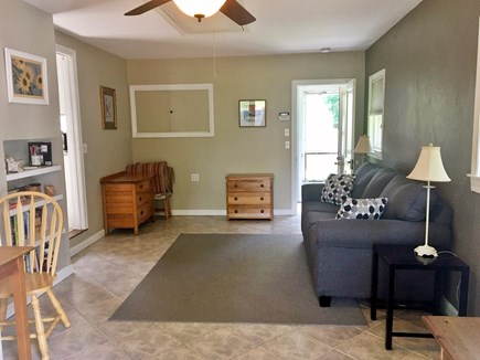 South Dennis Cape Cod vacation rental - Family room with Queen sofa bed