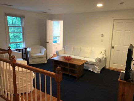 Harwich Port Cape Cod vacation rental - Sitting area on 2nd floor leading to two of the three bedrooms