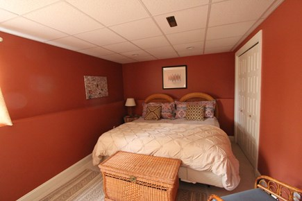 Mashpee Cape Cod vacation rental - Downstairs Bedroom - King Size Bed