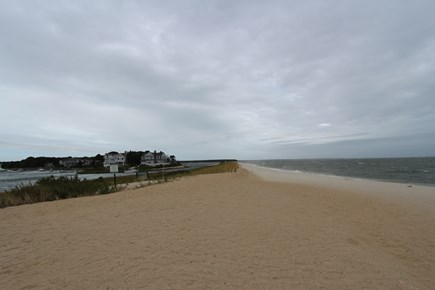 Mashpee Cape Cod vacation rental - Popponesset Spit Beach just a mile away