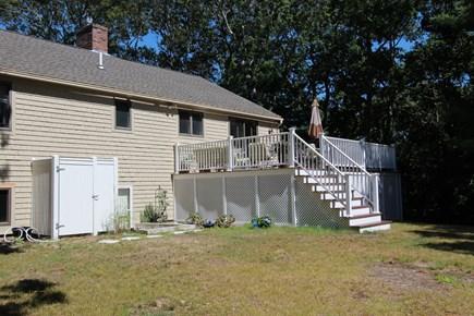 Mashpee Cape Cod vacation rental - Back of House/Back Yard
