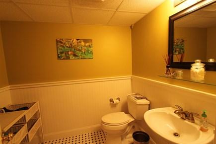 Mashpee Cape Cod vacation rental - Downstairs Half Bathroom