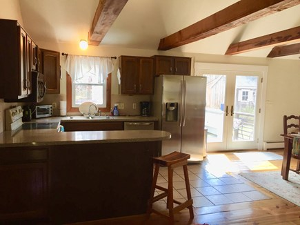 Eastham Cape Cod vacation rental - Open concept kitchen and living area