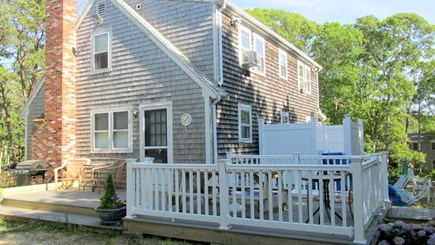 Eastham Cape Cod vacation rental - Side deck and outdoor shower