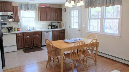 Eastham Cape Cod vacation rental - Kitchen Dining