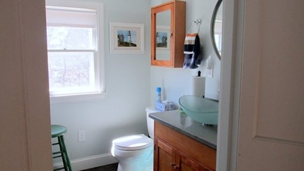 Eastham Cape Cod vacation rental - Downstairs Bathroom