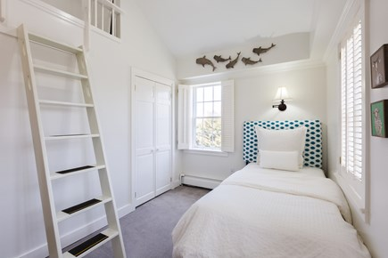 Orleans Cape Cod vacation rental - Kids room with twin and pull out trundle under.
