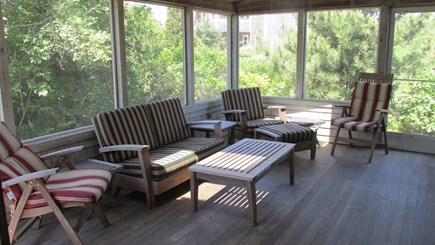 Eastham Cape Cod vacation rental - Screened Porch