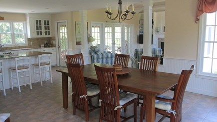 Eastham Cape Cod vacation rental - Dining Area to Kitchen