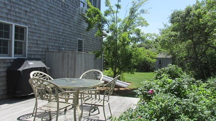 Eastham Cape Cod vacation rental - Back Yard Deck