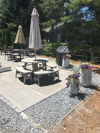 West Dennis Cape Cod vacation rental - Great outdoor area to relax and dine!
