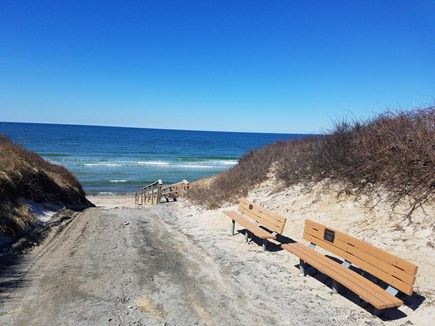 Dennis Cape Cod vacation rental - 3/10 mile to private association beach