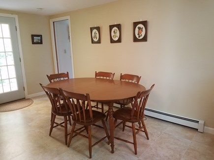 Dennis Cape Cod vacation rental - Dining table