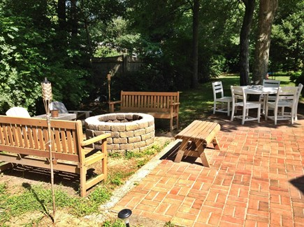 Centerville Centerville vacation rental - Patio and Fire-pit