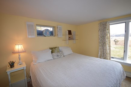 Orleans Cape Cod vacation rental - Lower level king bedroom with water views