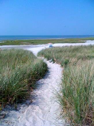 Orleans Cape Cod vacation rental - Skaket Beach is magical during low tide.