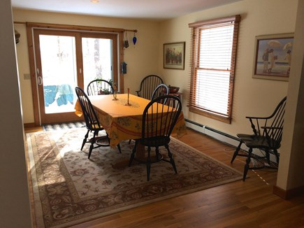 Orleans Cape Cod vacation rental - The dining room where you will enjoy many family meals.